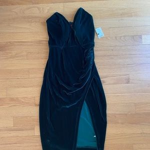 NWT velvet cocktail dress